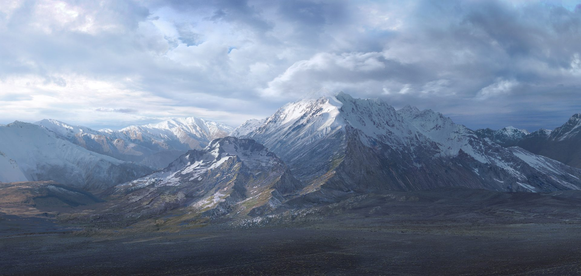 lord-of-the-ring-matte-painting